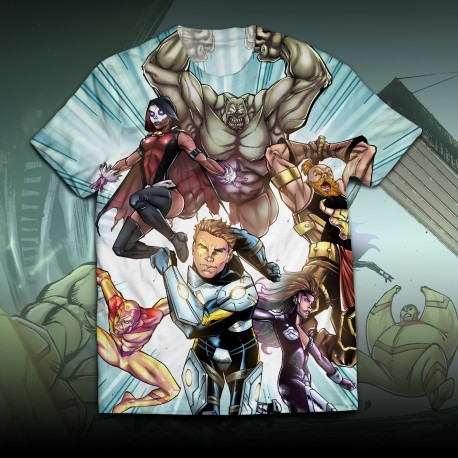 T-shirt Heroes of the earth